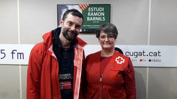 D'esquerra a dreta, David Bea i Laura Civardi