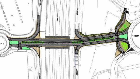 La zona entre el Centre Comercial i el Leroy Merlin millorarà amb un passeig per a ciclistes i vianants
