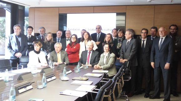 Moventia i Eurofragance entren a formar part de la Fundació Catalunya Cultura