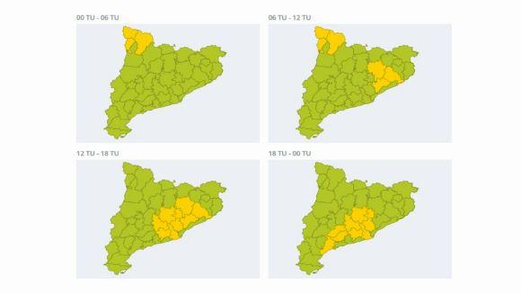 La baixada de les temperatures a Sant Cugat es manté fins dimarts