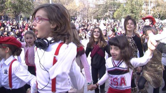 El Carnaval infantil, una de les activitats més multitudinàries