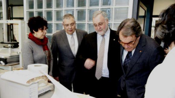 Artur Mas lliura a l'Arxiu Nacional de Catalunya la documentació institucional de la seva presidència