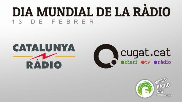 La secció d'esports de Cugat.cat serà avui a Catalunya Ràdio per celebrar el Dia Mundial de la Ràdio