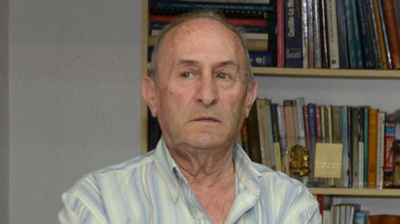 Mor Jesús Olmedo, president del Centro Castellano-Manchego de Sant Cugat