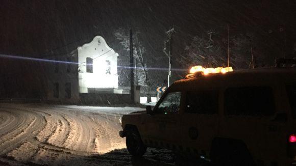 Un episodi de fred fins dimecres podria portar nevades a la ciutat