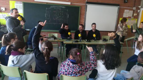 L'escola Joan Maragall de Sant Cugat es converteix en l'estudi de 'La Graderia' de Ser Catalunya