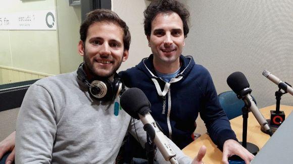 D'esquerra a dreta, Luís Escobar i Daniel Osés