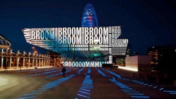 El florestà Pulmon Beatbox estrena avui l'espectacle de llum i so Xiu Xiu al festival Llum BCN