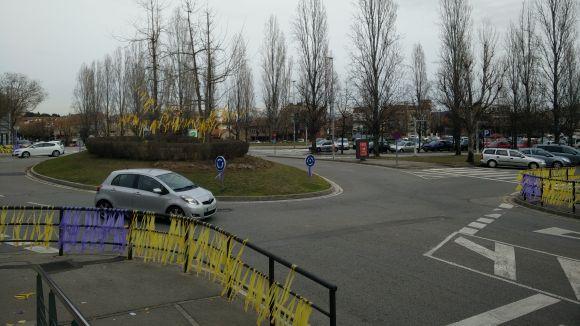 Negativa del ple a la proposta del PP contra els llaços grocs