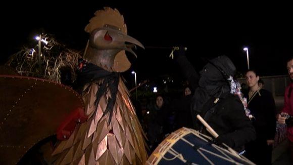 El Gall de Carnaval posa el punt final a la festa amb el retorn de la vara de poder a la ciutat