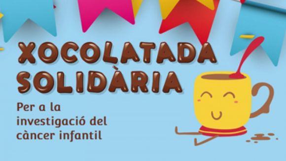 L'Escola Ferran i Clua se suma aquest divendres a la lluita contra el càncer infantil amb una xocolatada