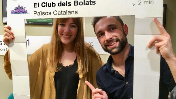'El Club dels Bolats' rep la visita de la cantautora gironina Mireïa