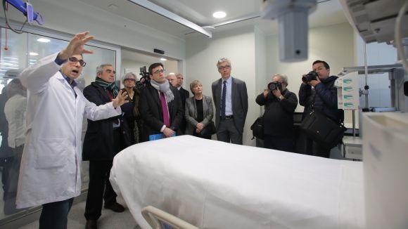 Tot a punt perquè l'Hospital Universitari MútuaTerrassa posi en marxa la nova UCI