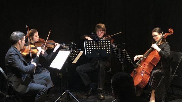 El London City Quartet porta a Sant Cugat l'última creació del santcugatenc David Bozzo