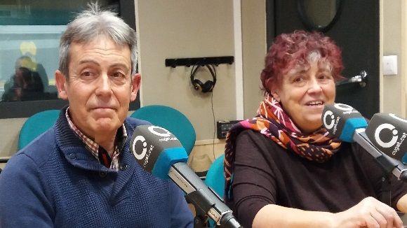 Gerard Gràcia i Rosa Maria Marquès, al magazín