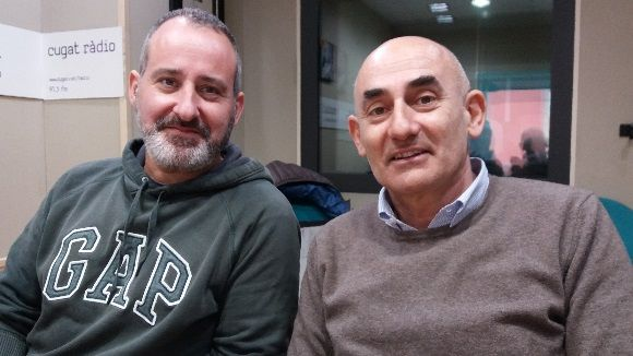 D'esquerra a dreta, Rafa Rodríguez i Xavier Requeno