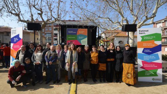 La trobada ha tingut lloc a la plaça d'en Coll / Foto: Localpres