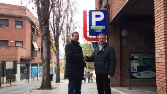 L'aparcament de Doctor Galtés es posa a disposició dels clients de Sant Cugat Comerç