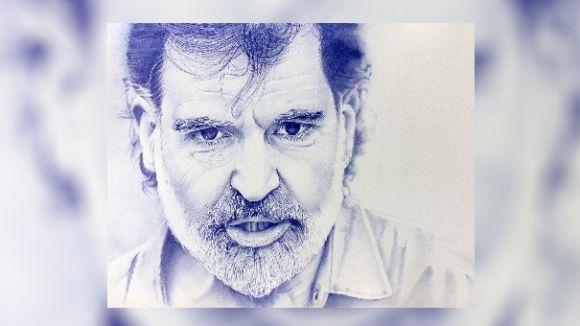 Un santcugatenc es converteix en un fenomen a les xarxes socials pels seus dibuixos a bolígraf