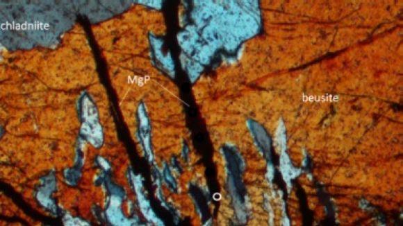 'El Pou' parla de la troballa d'un mineral fins ara present només als meteorits