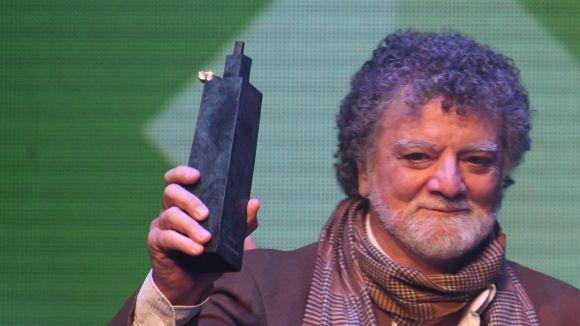 Lluís Ribas rep un Premi Sant Cugat pels 40 anys de trajectòria artística