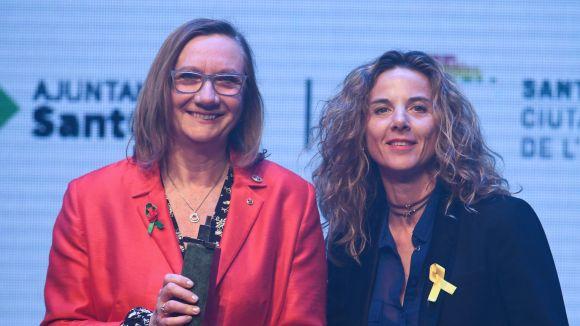 Montse Moral rep un Premi Sant Cugat per portar la iniciativa del Banc Farmacèutic a la ciutat