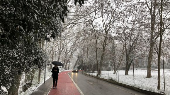 Nova alerta a Sant Cugat per una possible nevada aquest dimarts