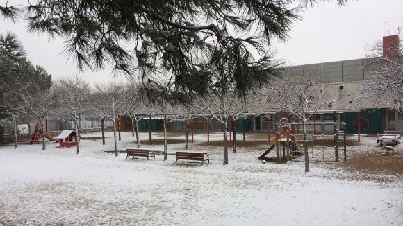 El consell de barri de la Floresta demana millorar la coordinació en episodis excepcionals com la darrera nevada
