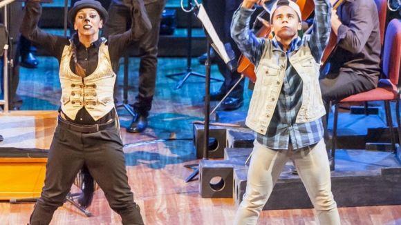 Música clàssica, dansa urbana i literatura amb 'Pere i el llop', aquest dissabte al Teatre-Auditori