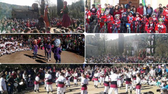 El Sant Medir més 'esportiu' fa gaudir els santcugatencs de la tradició