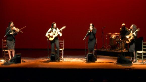 Las Migas tanquen gira i etapa al Teatre-Auditori amb un concert emotiu i sentit