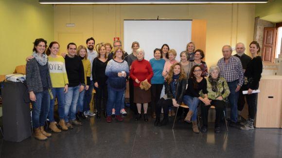 Imatge dels impulsors i dels participants del projecte / Foto: Localpres