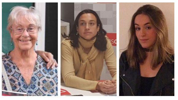Dolors Renau, Elena Vila i Aina Lasauca