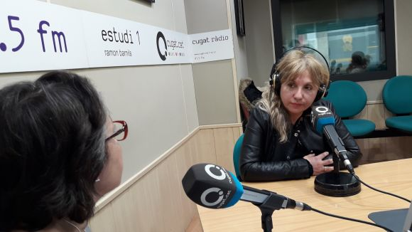 La presidenta de l'Associació Noestasola, Maribel Guillamon