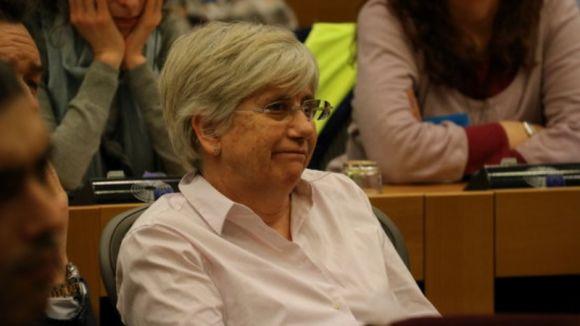 Ponsatí es trasllada de Brussel·les a Escòcia per reincorporar-se a la Universitat de Saint Andrews