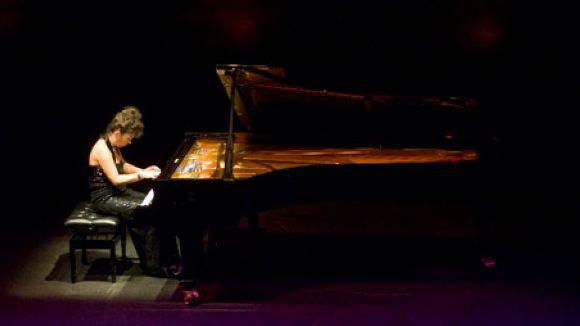 La pianista russa Elena Lasco actua avui a l'Aula Magna de l'Escola Municipal de Música