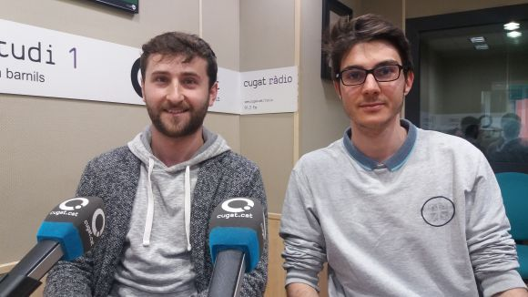 D'esquerra a dreta, Arkady Griogoryam i Quim Itarte