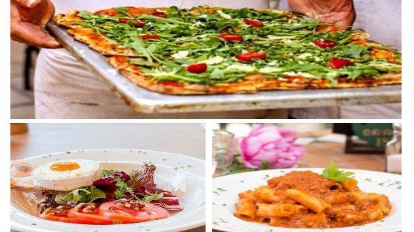 Plats del restaurant Lago di Garda /Imatges:pizzerialagodigarda.cat