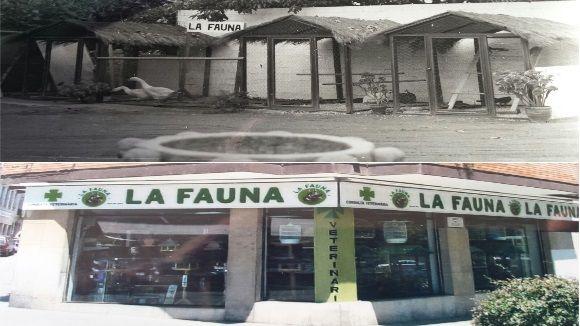 L'abans i l'ara de la botiga La Fauna / Imatges: Jaume Pros