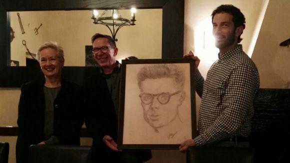 L'Associació Gabriel Ferrater cedeix un retrat de l'artista a El Mesón