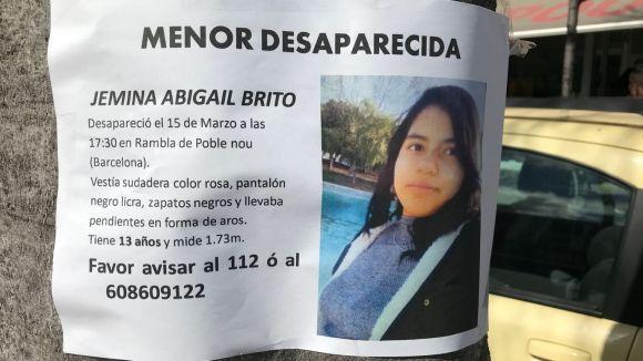 Els Mossos busquen Jemina Abigail Brito, una menor barcelonina desapareguda aquest dijous a la capital