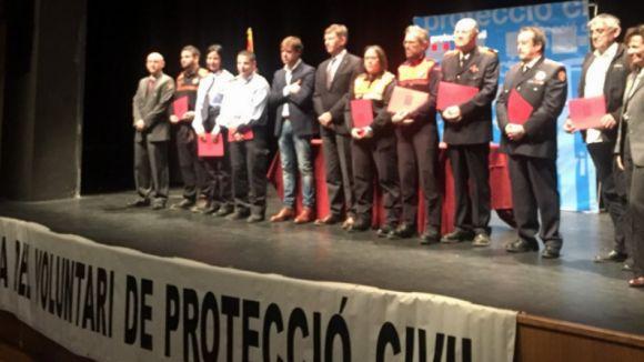 Reconeixement a l'AVPC de Sant Cugat per la seva tasca en la prevenció d'incendis
