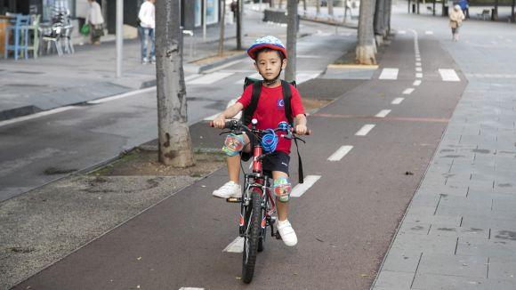 Pas endavant per al carril bici que unirà Lluís Companys i el Sant Cugat Centre Comercial