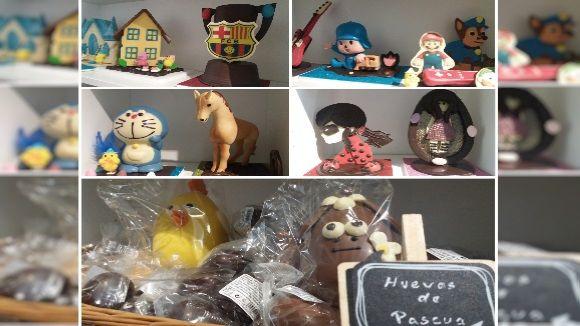 La pastisseria Petritxol ofereix una gran varietat de figures i personatges per a la teva mona de Pasqua
