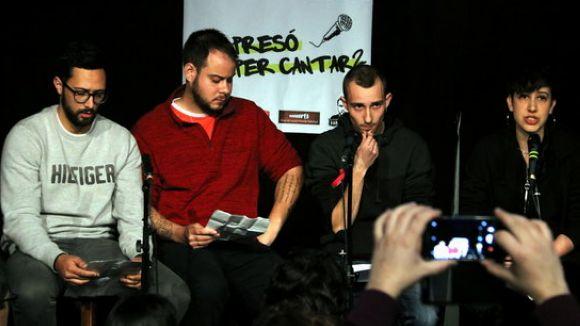 Els rapers Valtonyc, Hasél i Elgio reben el suport del ple amb una crida a la llibertat d'expressió