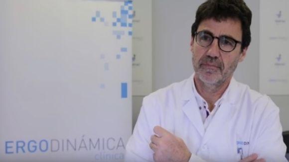 El doctor Daniel Brotons és especialista en medicina esportiva / Imatge: YouTube