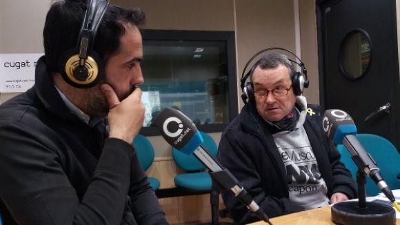 D'esquerra a dreta, Joan García i Rafa Robledo, al magazín