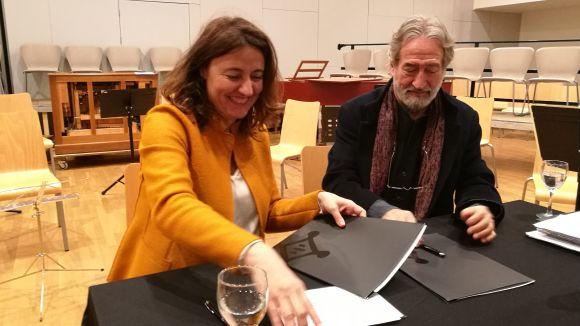 Sant Cugat i Jordi Savall, junts per projectar la música clàssica a àmbit internacional