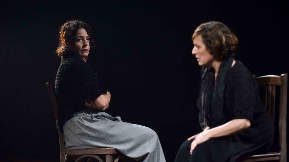 Clara Segura i Nora Navas, avui al Teatre-Auditori amb 'Bodas de Sangre'