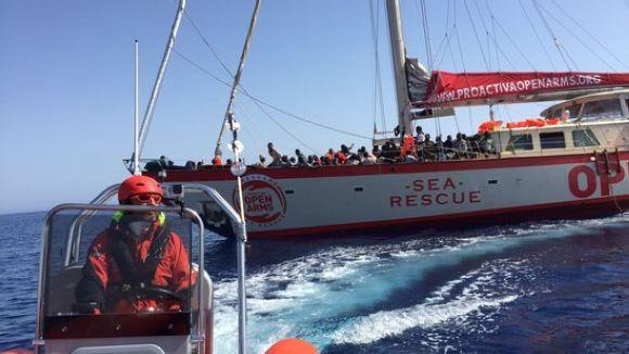 La Xarxa Solidària de Sant Cugat exigeix que Itàlia alliberi el vaixell de Proactiva Open Arms
